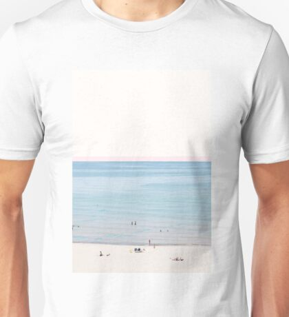 A Day at The Beach #redbubble #lifestyle Unisex T-Shirt