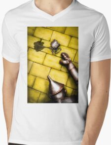 the tin man Mens V-Neck T-Shirt