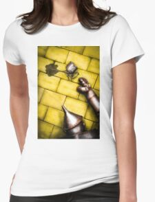 the tin man Womens Fitted T-Shirt
