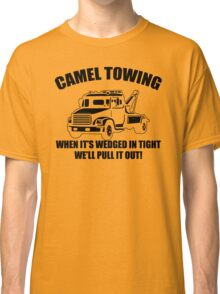Camel Towing Mens T-Shirt Tee Funny Tshirt Tow Service Toe College Humor Cool Classic T-Shirt