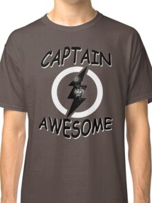 CAPTAIN AWESOME TSHIRT Funny Humor TEE COMIC VINTAGE New LIGHTNING VTG 80s Cool Classic T-Shirt