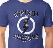 CAPTAIN AWESOME TSHIRT Funny Humor TEE COMIC VINTAGE New LIGHTNING VTG 80s Cool Unisex T-Shirt