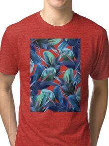 Rubber Plant #redbubble #lifestyle Tri-blend T-Shirt