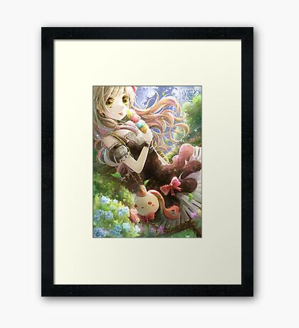 Mayu - A Hot Day Framed Print