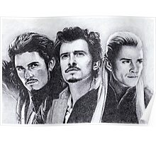 The Many Faces of Orlando Bloom Poster
