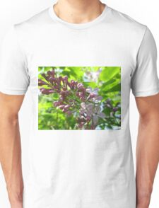 Looking Up At Lilac Unisex T-Shirt