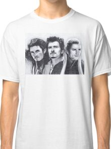 The Many Faces of Orlando Bloom Classic T-Shirt
