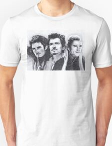 The Many Faces of Orlando Bloom Unisex T-Shirt