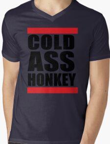 Cold Ass Honkey Funny Cool Honky Rap T shirt Tee Shirt Mens V-Neck T-Shirt