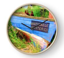 Whitstable Oyster Co. Clock