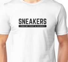 Sneakers - Black Unisex T-Shirt