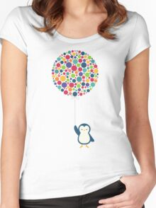 Float In The Air Women's Fitted Scoop T-Shirt