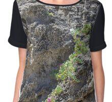 Penguin Cliffs Chiffon Top