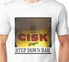 Enjoy A Cisk at the Step Down Bar Unisex T-Shirt