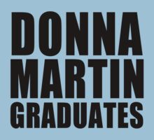 Donna Martin Graduates T-Shirt 90210 TV TEE Retro Funny hip Beverly Hills CA by beardburger