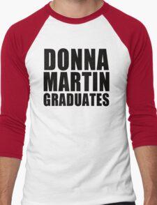 Donna Martin Graduates T-Shirt 90210 TV TEE Retro Funny hip Beverly Hills CA Men's Baseball ¾ T-Shirt