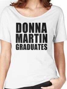 Donna Martin Graduates T-Shirt 90210 TV TEE Retro Funny hip Beverly Hills CA Women's Relaxed Fit T-Shirt