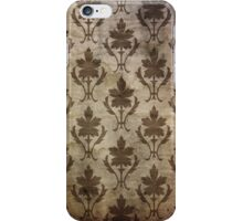 Vintage Patterned Wallpaper 01 iPhone Case/Skin