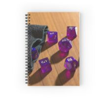 The Die are Cast Spiral Notebook