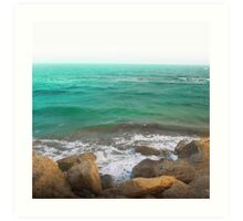 BEACH DAYS XII Art Print
