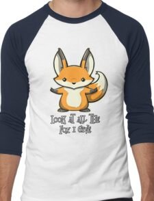 look at all the fox i give Men's Baseball ¾ T-Shirt