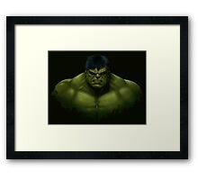 Hulk smash Framed Print