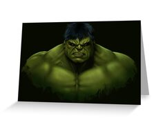 Hulk smash Greeting Card