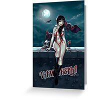 Vampirella Greeting Card