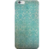Vintage Patterned Wallpaper 03 iPhone Case/Skin