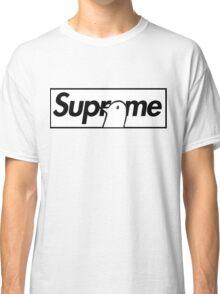 Good Night Oyasumi Punpun x Supreme Parody Collab Big Box Logo Classic T-Shirt