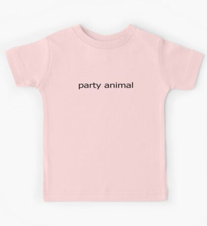 Party Animal Baby Jumpsuit Kids Tee