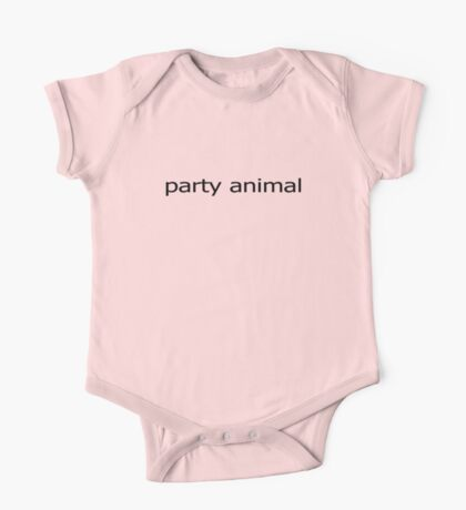 Party Animal Baby Jumpsuit One Piece - Short Sleeve