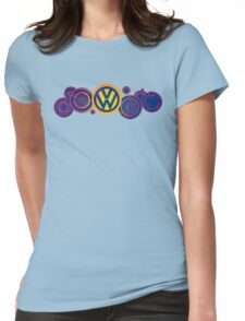 Dr Who VW Mash Up Tee - Gallifrey Volkswagen Womens Fitted T-Shirt