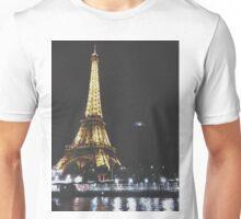 Paris By Night - Eiffel Tower Unisex T-Shirt
