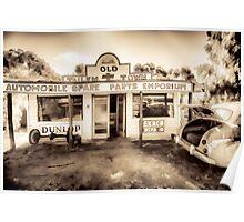 Spare Parts Garage Poster
