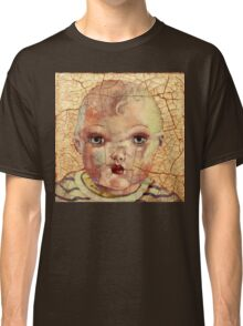 """Nothing to Fix"" (antique boy doll) Classic T-Shirt"