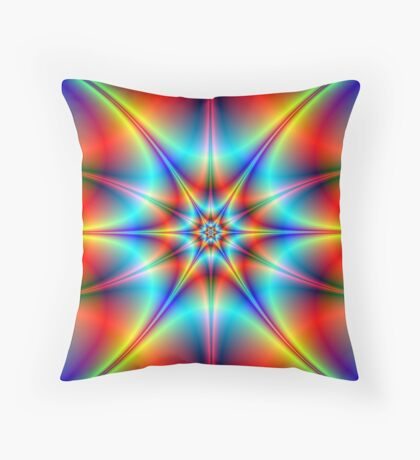 Star Bright Throw Pillow