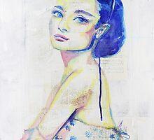Pop Art Audrey by Sara Riches