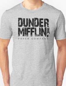 DUNDER MIFFLIN TSHIRT Funny Humor THE OFFICE TEE Paper COMPANY Dwight Humorous T-Shirt