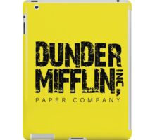 DUNDER MIFFLIN TSHIRT Funny Humor THE OFFICE TEE Paper COMPANY Dwight Humorous iPad Case/Skin
