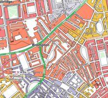 Multiple Deprivation Brompton & Hans Town ward, Westminster Sticker