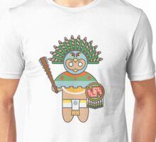 Eagle Warrior w/ Background Unisex T-Shirt