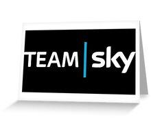 Team Sky Greeting Card