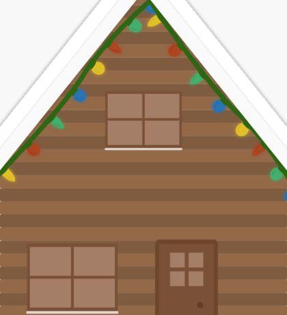 Christmas House Sticker