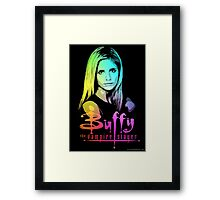 Buffy Multicolored  Framed Print