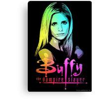 Buffy Multicolored  Canvas Print