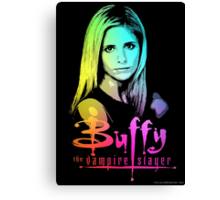Buffy Multicolored  Canvas Print