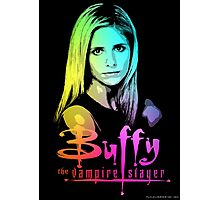 Buffy Multicolored  Photographic Print