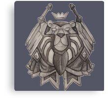 Paladin crest Canvas Print
