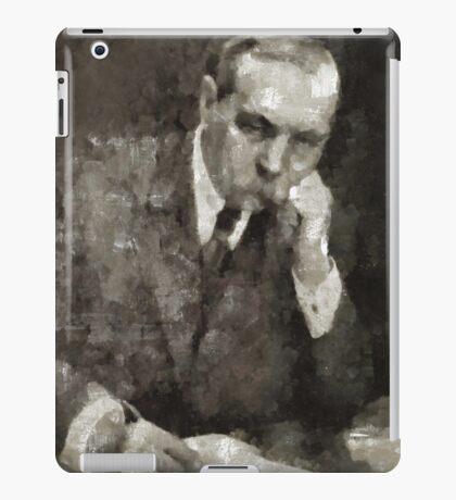 Sir Arthur Conan Doyle Author iPad Case/Skin